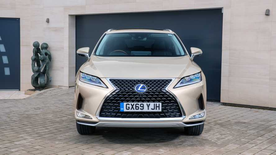 Lexus' flagship RX SUV gains new entry-level model