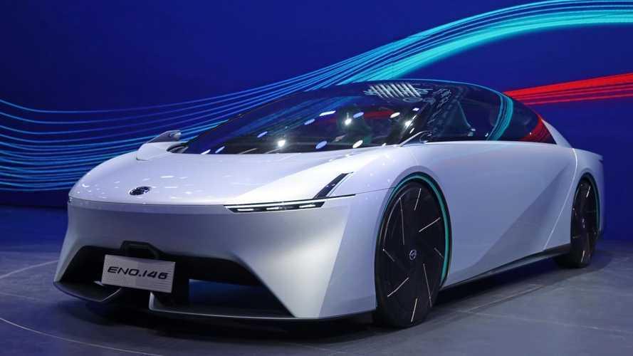 GAC Eno 146, l'auto elettrica più aerodinamica al mondo