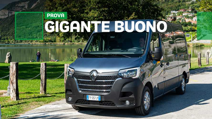 Renault Master, potente e premuroso