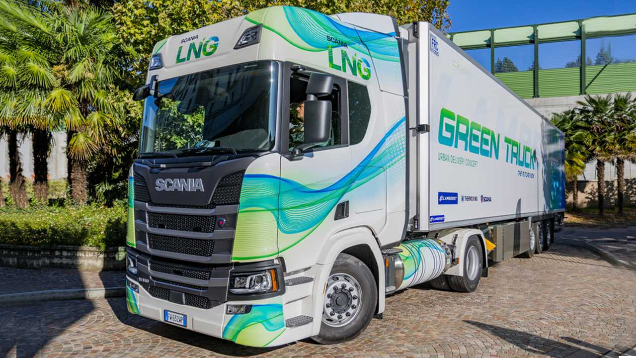 Green Truck Scania, Lamberet e Thermo King