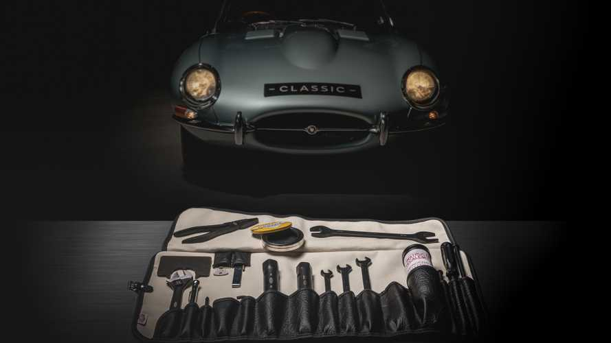 Jaguar will sell you an original E-Type toolkit