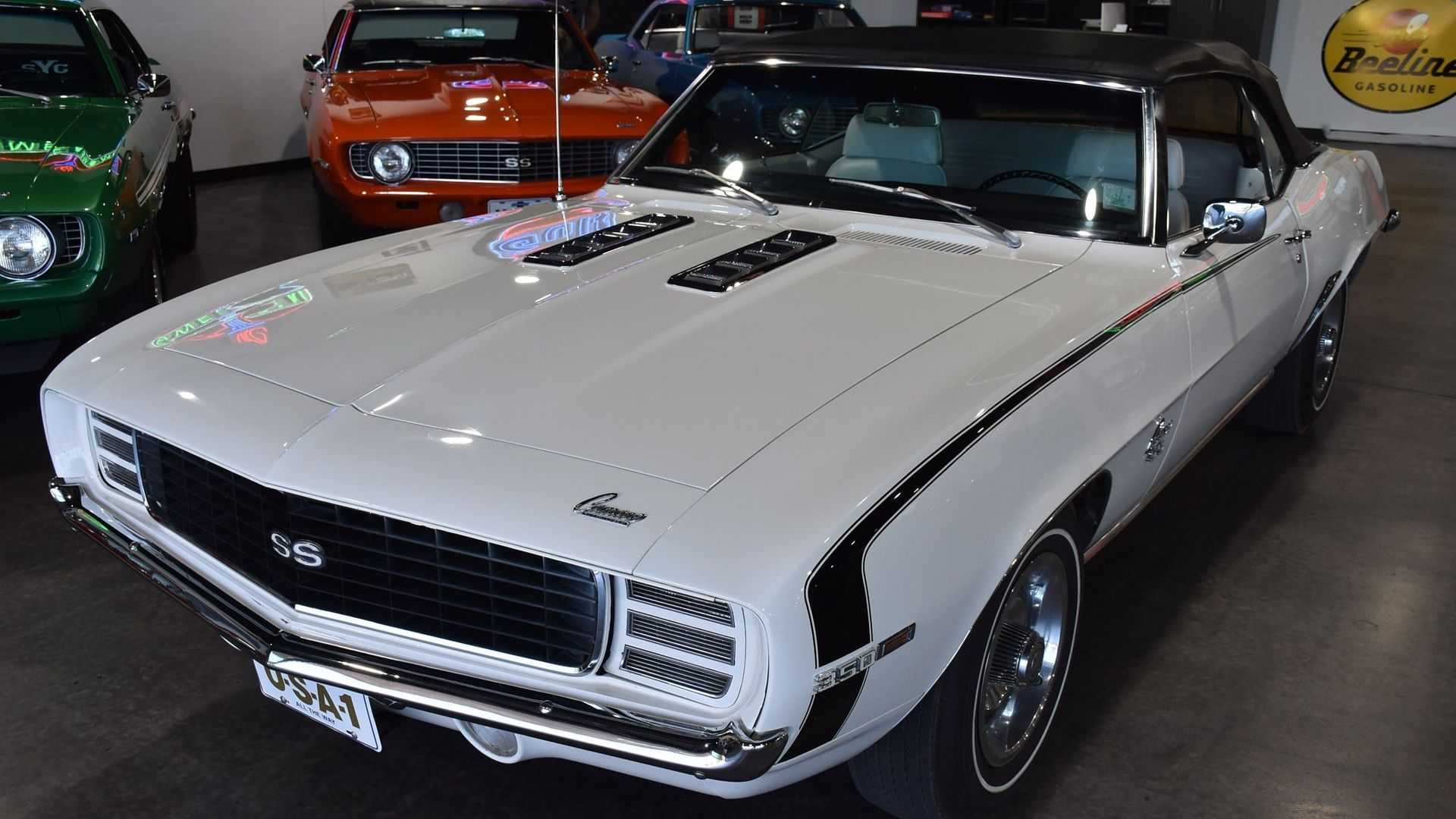 "[""1969 Chevy Camaro SS Wears Its Original Paint""]"
