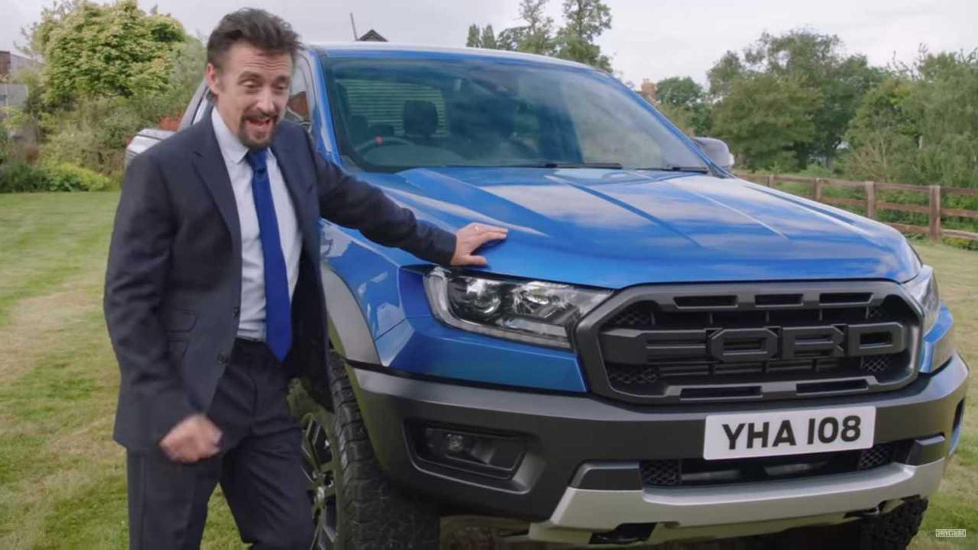 Richard Hammond Promotes Ranger Raptor As Midlife Crisis Solution