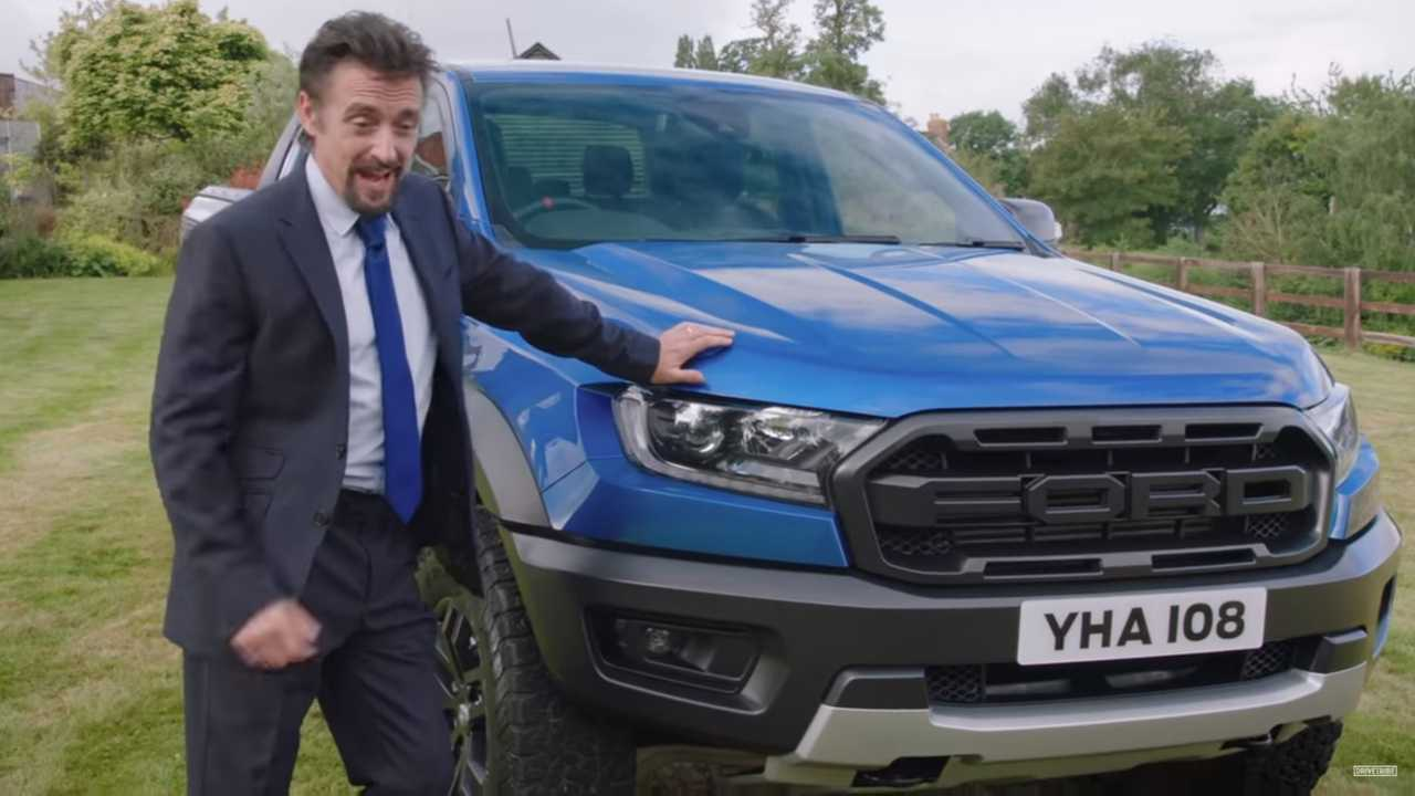 Richard Hammond Cars: Richard Hammond Promotes Ranger Raptor As Midlife Crisis