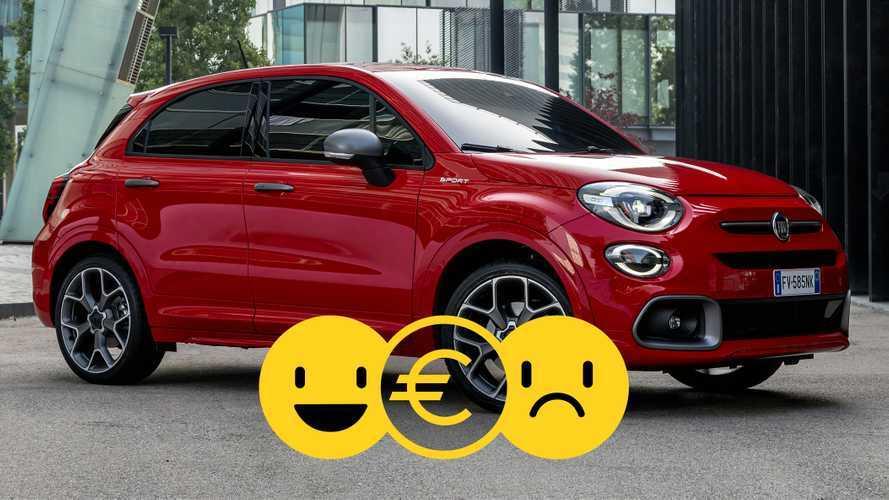 Promozione Fiat 500X Sport, perché conviene e perché no