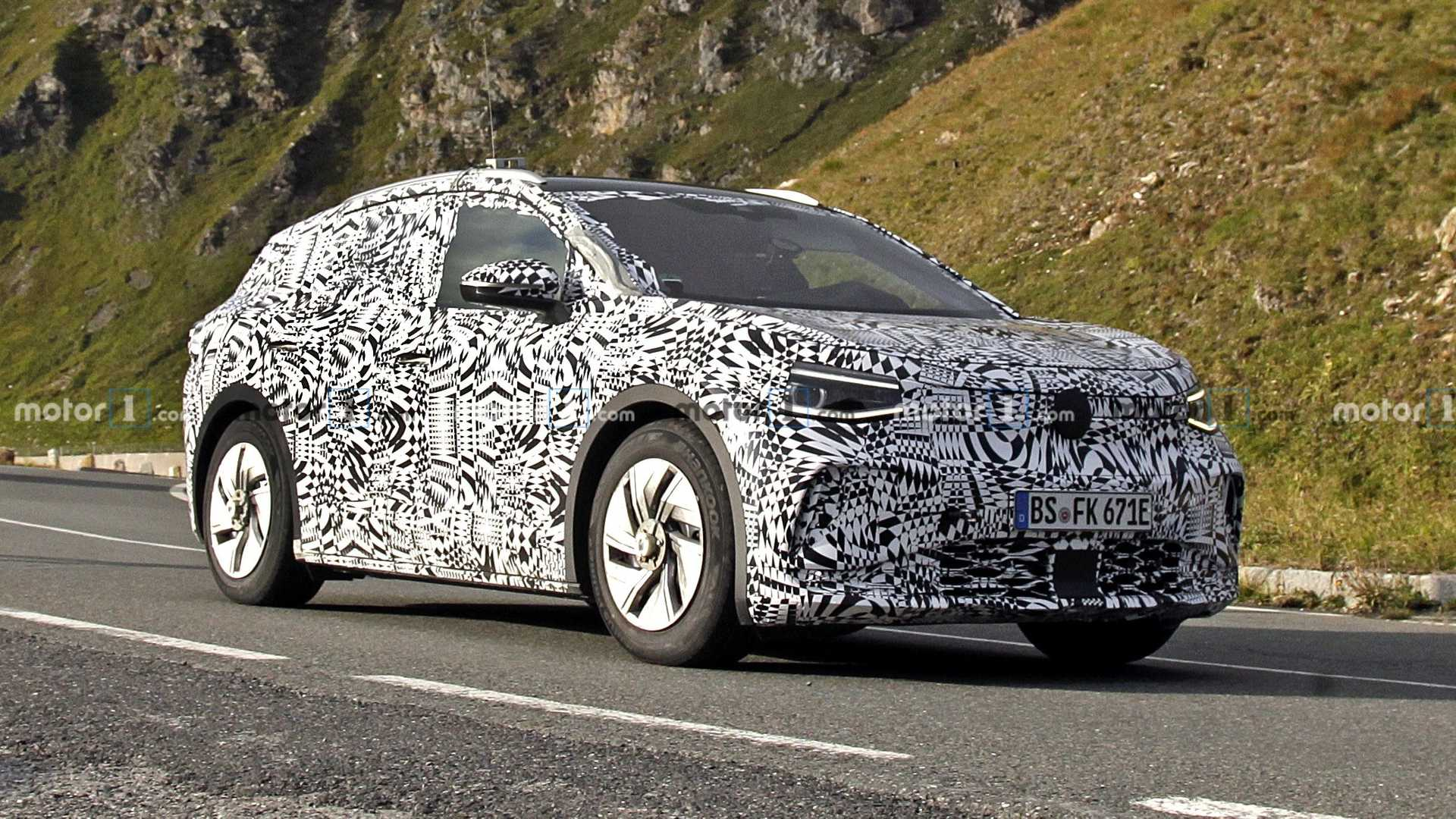 Spy Shots Show VW ID.4 Electric SUV We'll Get In The U.S.