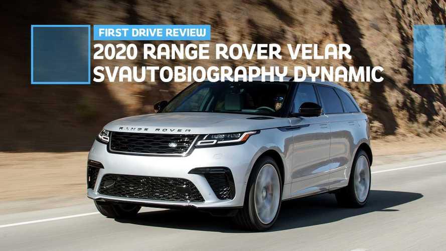 2020 Range Rover Velar SVAutobiography Dynamic First Drive: SVR Lite