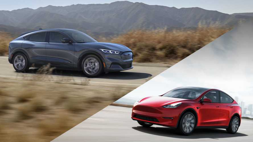 UPDATE: Tesla Model Y Vs Ford Mustang Mach-E: Infographic Comparison