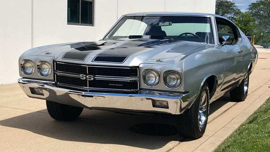 Roast Rubber In This Potent 1970 Chevy Chevelle SS LS6