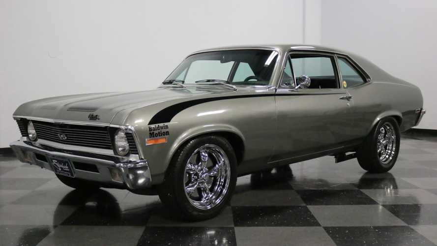 Restored 1971 Chevrolet Nova Is Ready To Have Some Fun
