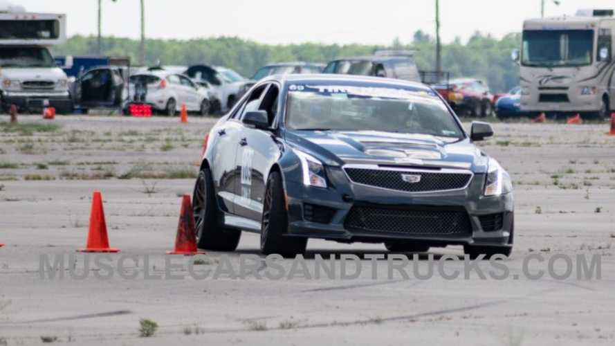 Cadillac ATS-V GM Performance Driving Team