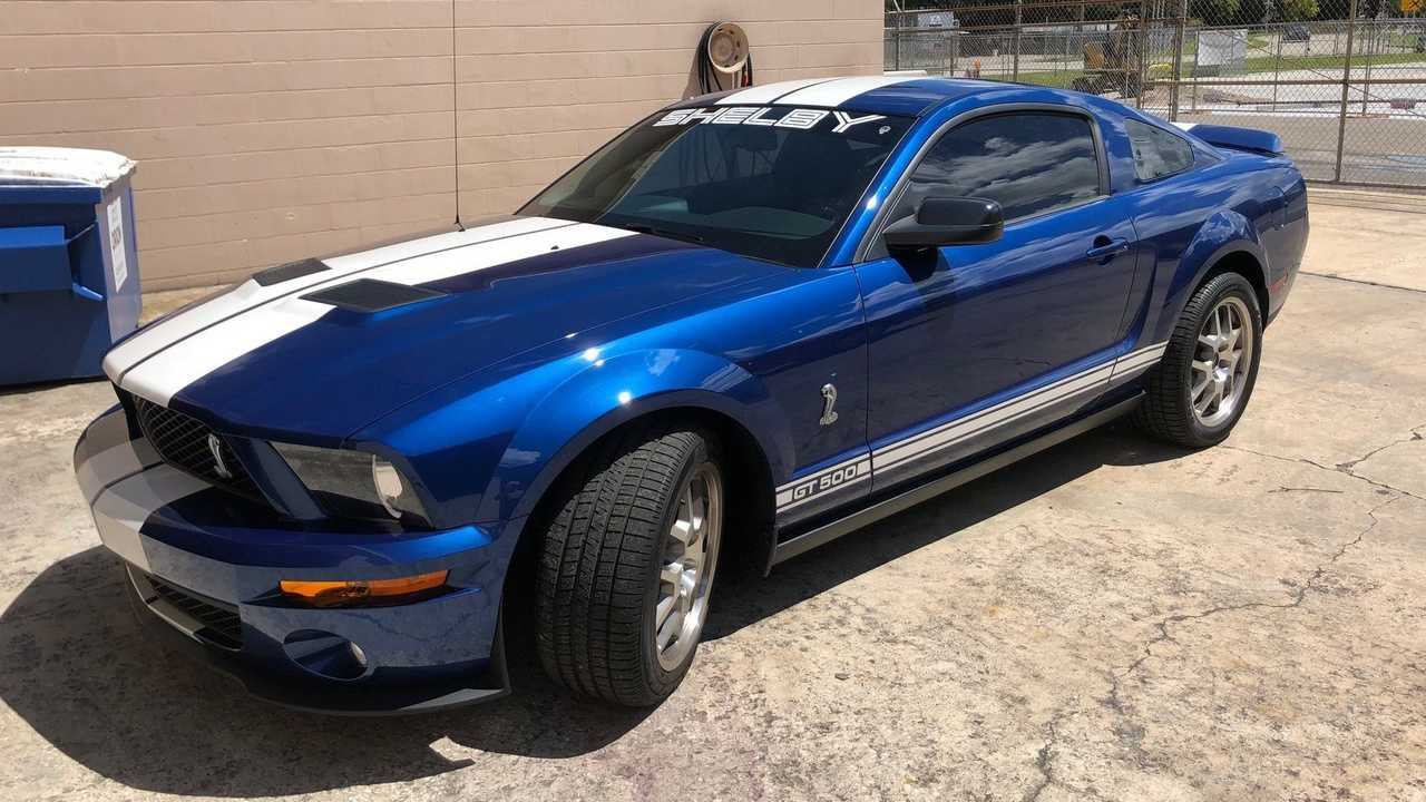 Low-Mileage 2007 Shelby GT500