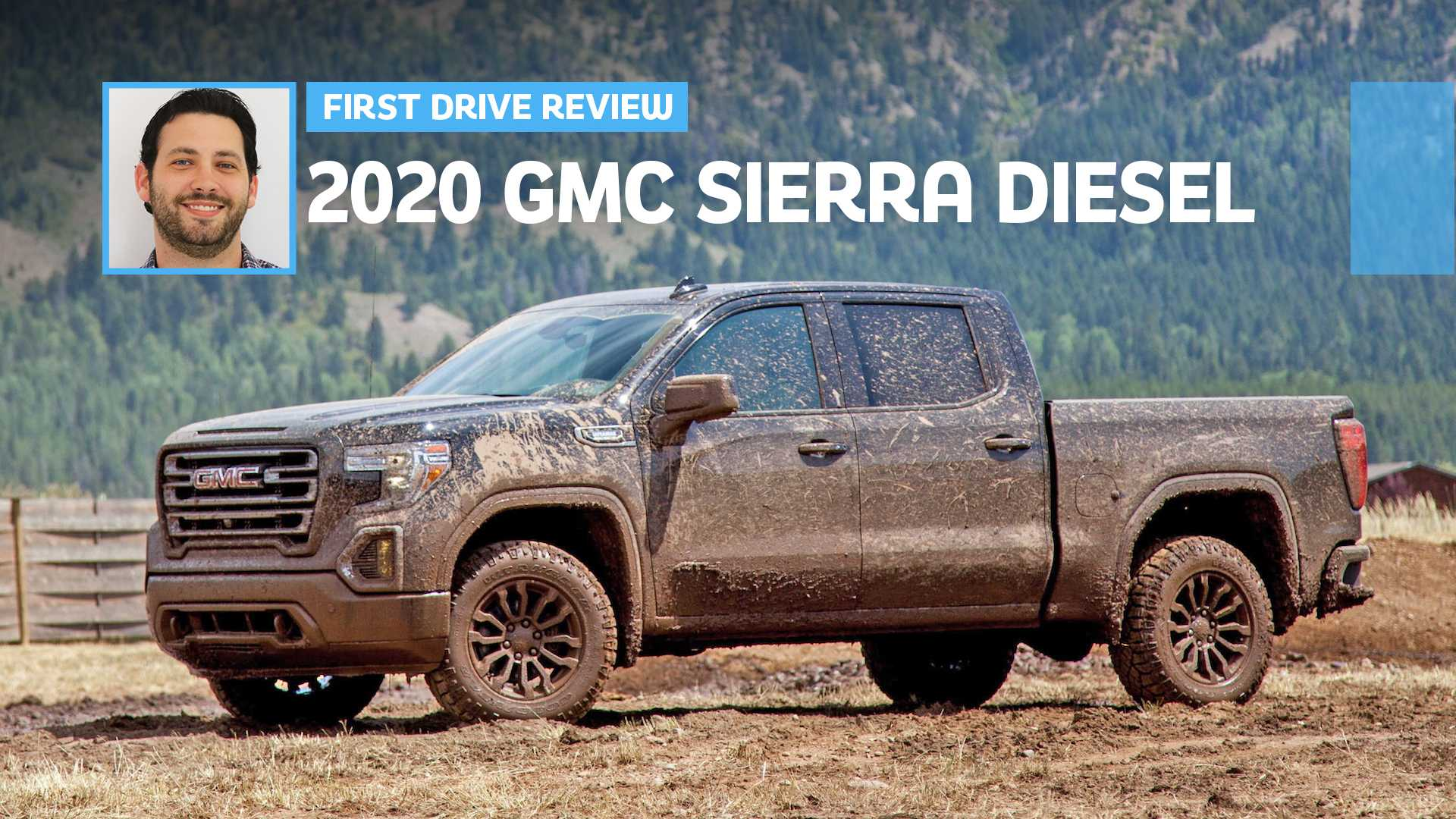 2020 Gmc Sierra 1500 At4 Diesel First Drive Off Road Rich
