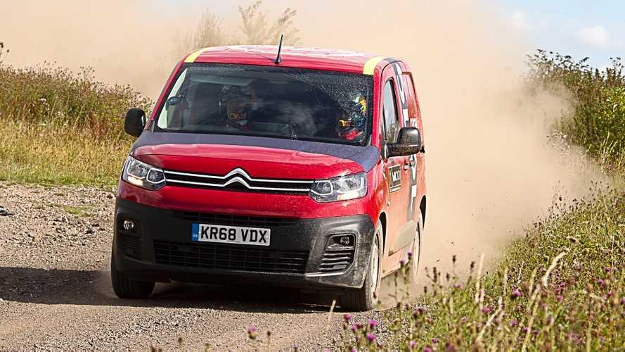 Vídeo: el Citroën Berlingo Van, desatado en un tramo de rally