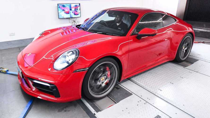 Porsche 992-Gen 911 Carrera Already Tuned To 572 HP