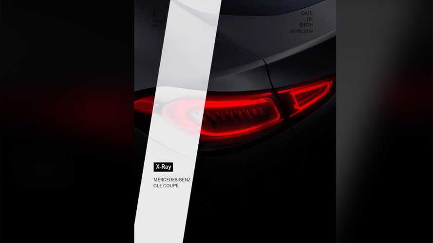 Mercedes GLE Coupe Teaser Reveals Possible August 28 Debut