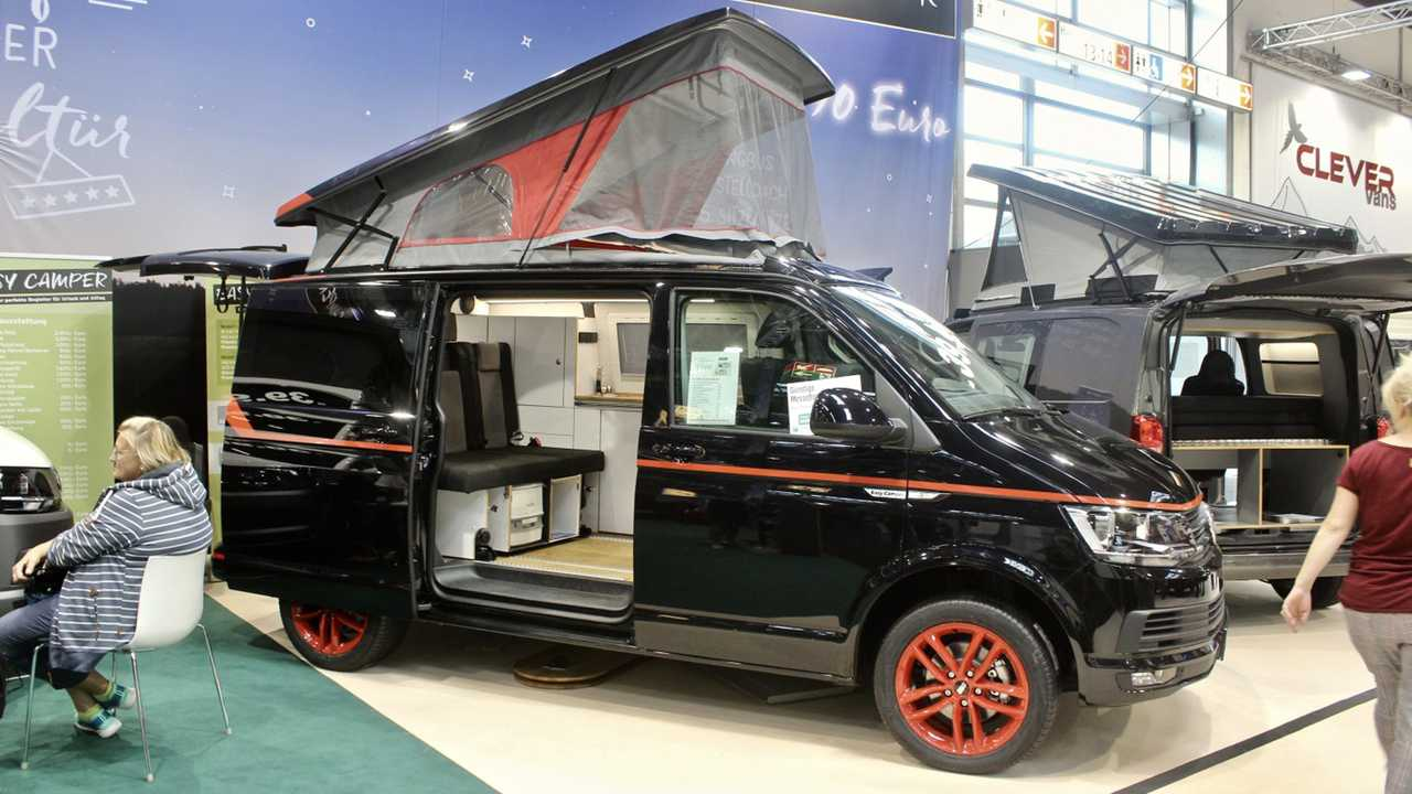 VW Bulli A-Team Camper