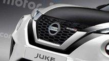 Nissan Juke NISMO 2020, render de Motor1.com