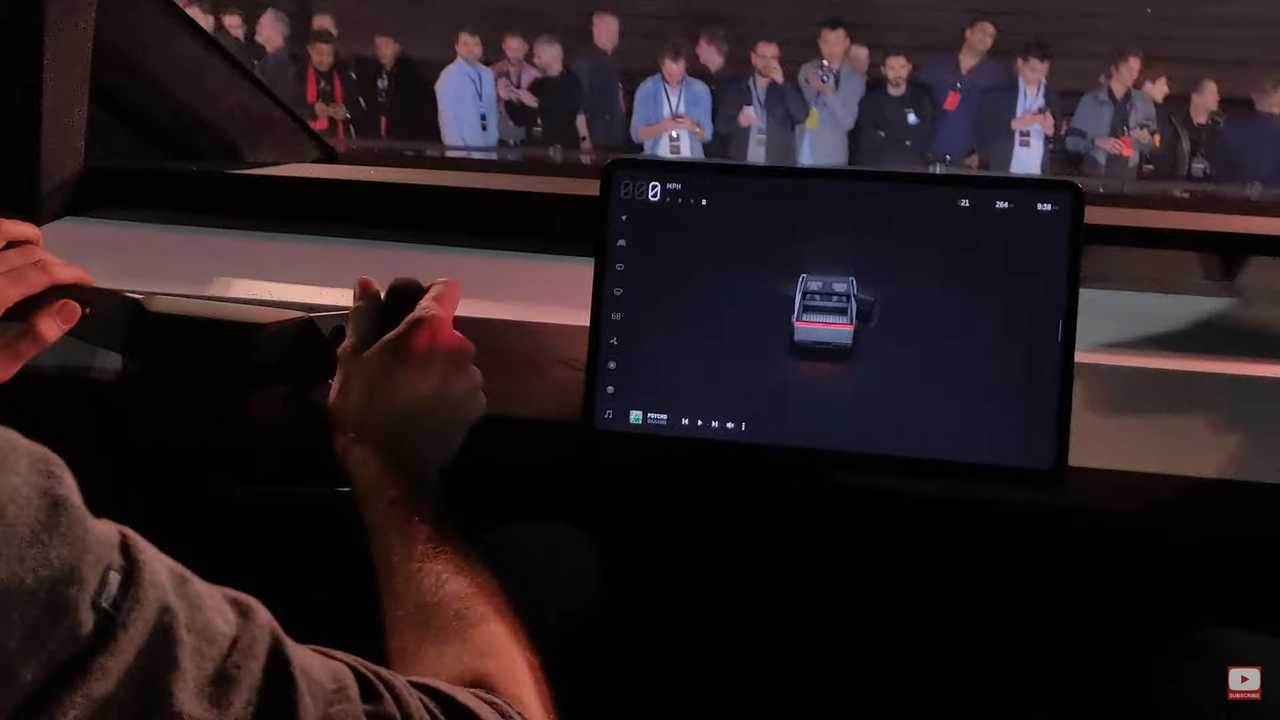 Check Out How It Feels To Ride In The Tesla Cybertruck