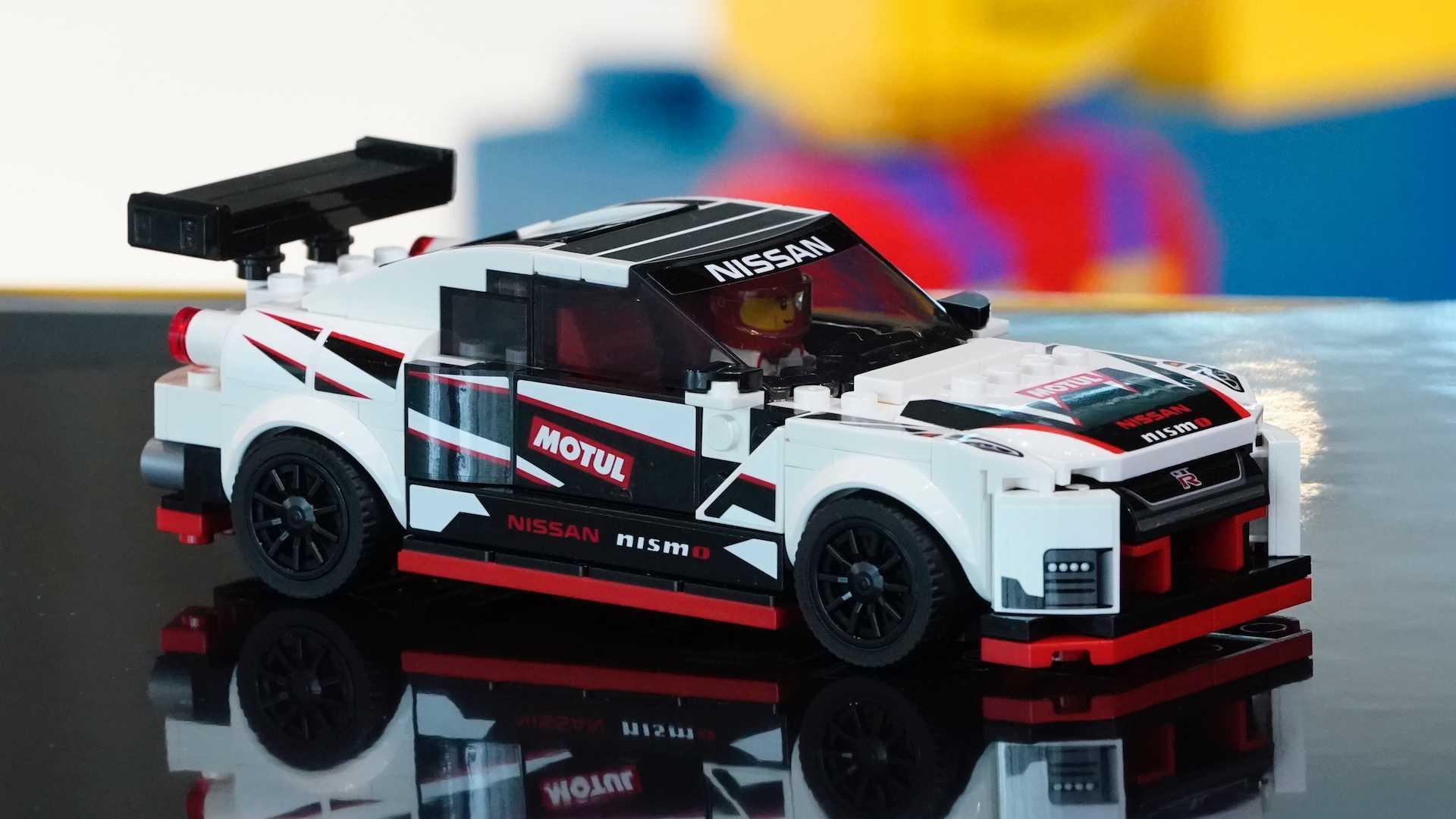 Lego Nissan GT-R Nismo looks like one fast brick