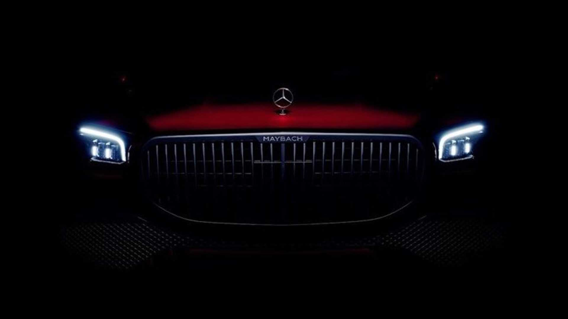 Mercedes-Maybach GLS Teased Ahead Of Tomorrow's Debut