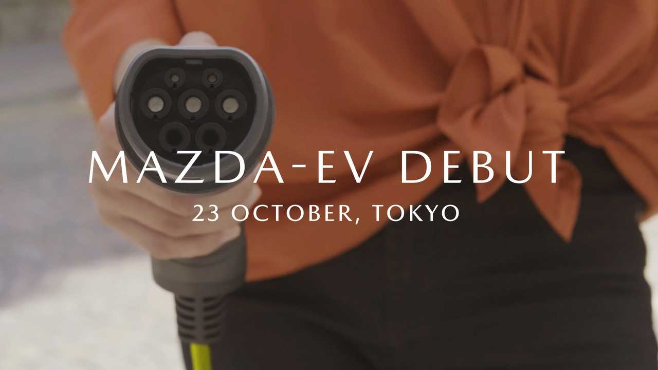 Mazda Confirms It Will Present Its First Production EV In Tokyo