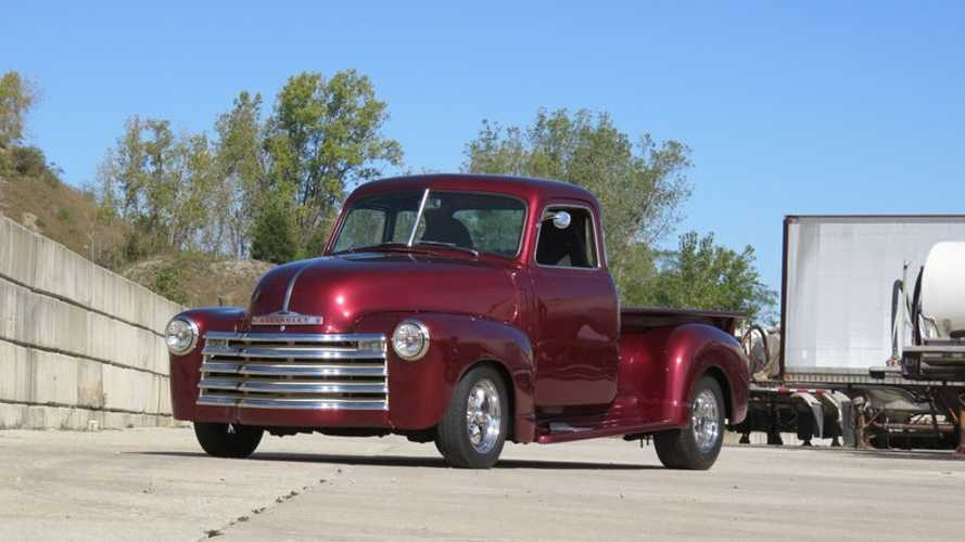 Turn Heads In This 1947 Chevrolet 3100 5-Window