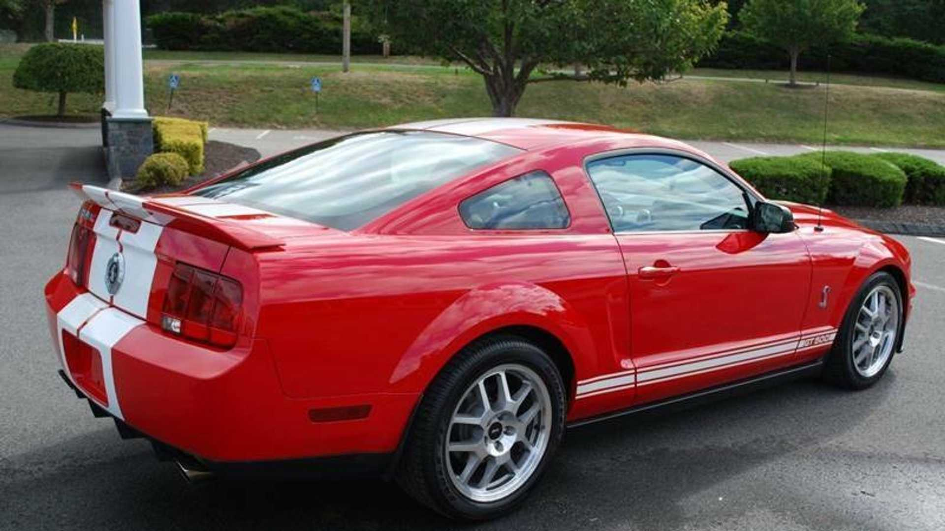 "[""eBay Find: Actual \""I Am Legend\"" 2007 Mustang Shelby GT500 Movie Car""]"