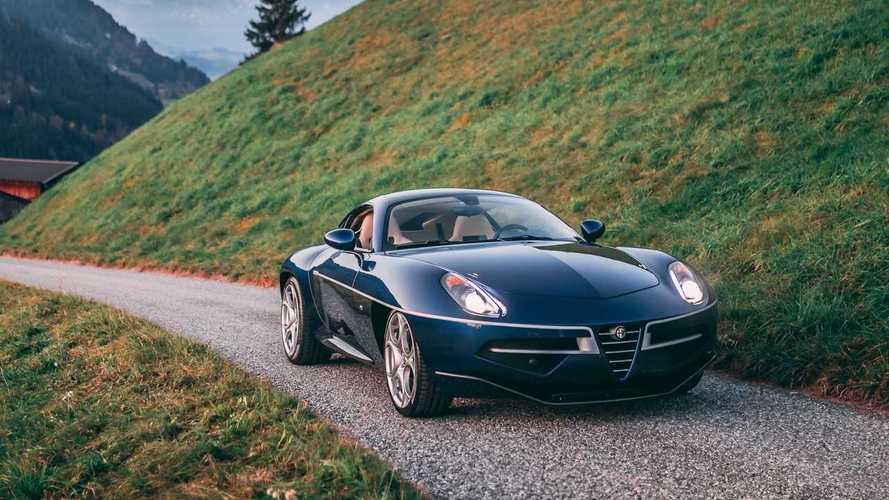 Este Alfa Romeo Disco Volante Superleggera by Touring puede ser tuyo