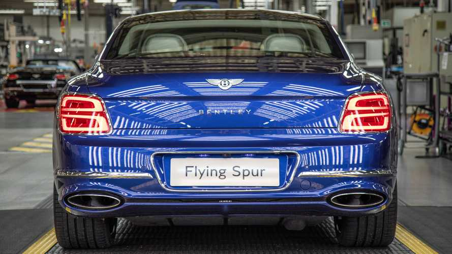 Bentley Flying Spur production gets underway in Crewe