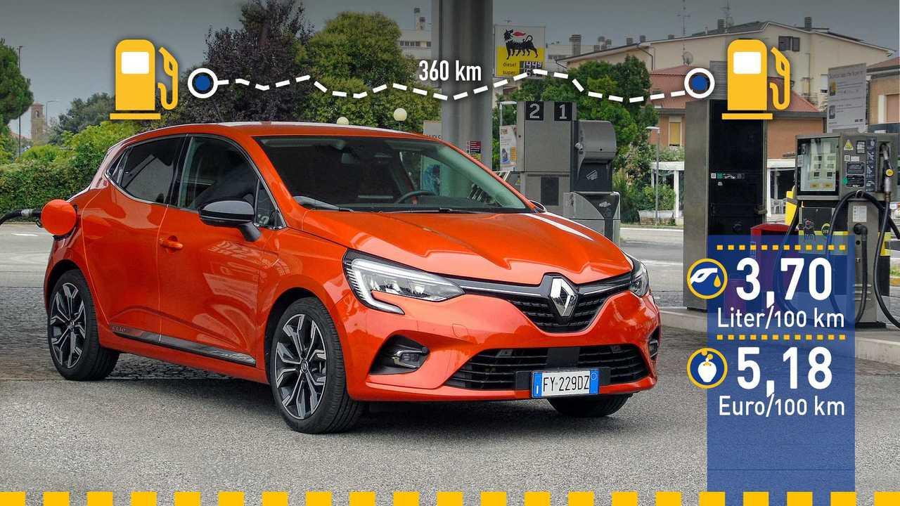 Renault Clio im Verbrauchstest (2019)