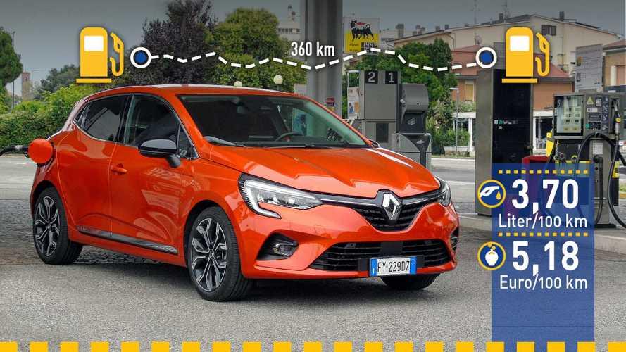 Tatsächlicher Verbrauch: Renault Clio TCe 100 im Test