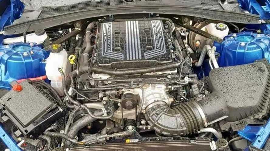 Camaro ZL1 baleset