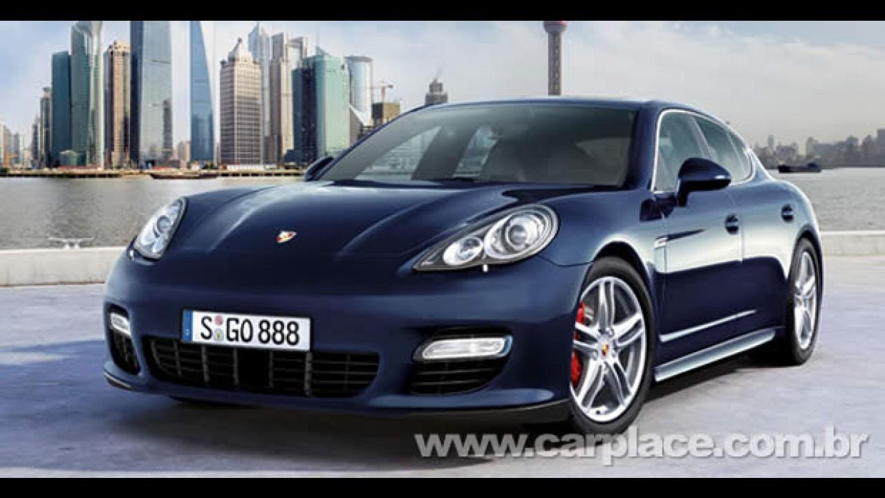 Porsche Panamera chega por encomenda ao Brasil com preço inicial de R$ 549 mil