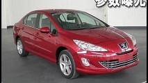 Novo Peugeot 308 Sedan é divulgado sem disfarces em site chinês