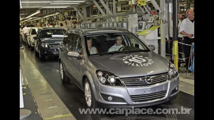 Opel comemora a marca de 10 milhões de Astras produzidos