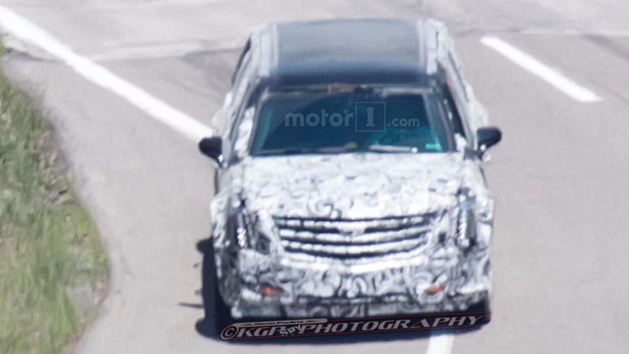 """The Beast"" presidential limo spied testing at GM proving grounds"