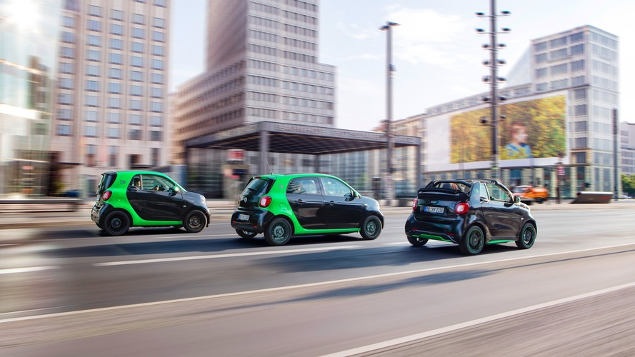 2017 Smart fortwo et forfour electric drive