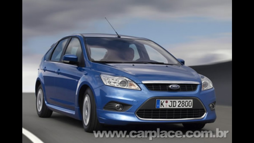 Ford Focus 2008/2009 será igual ao modelo europeu