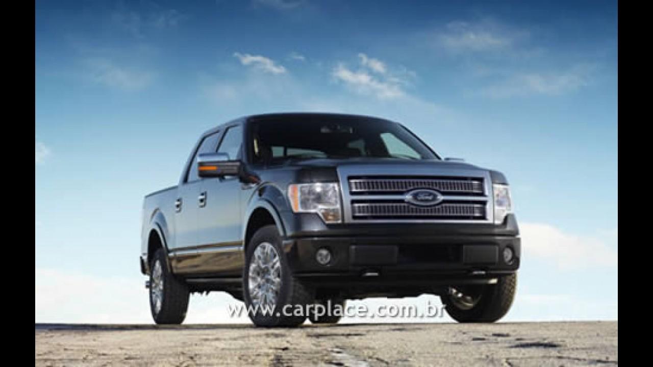 Salão de Detroit 2008: Ford mostra nova Pick-up F150 2009