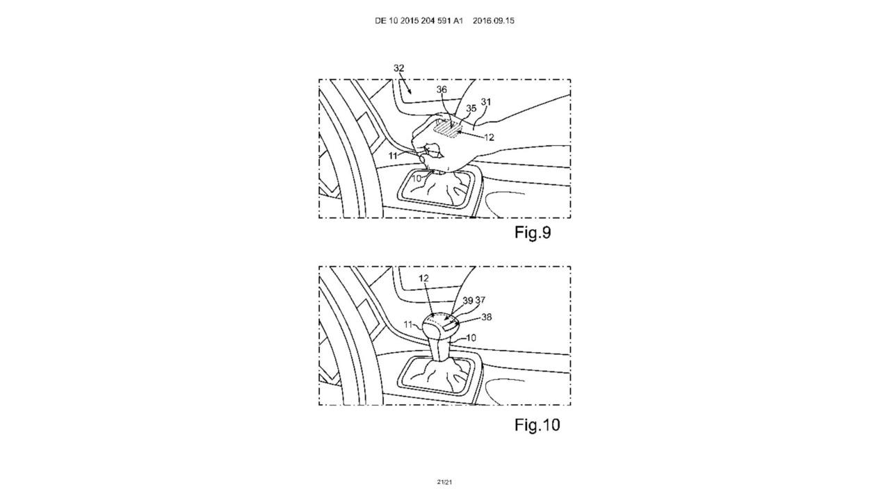 VW otonom sürüş patenti çizimleri
