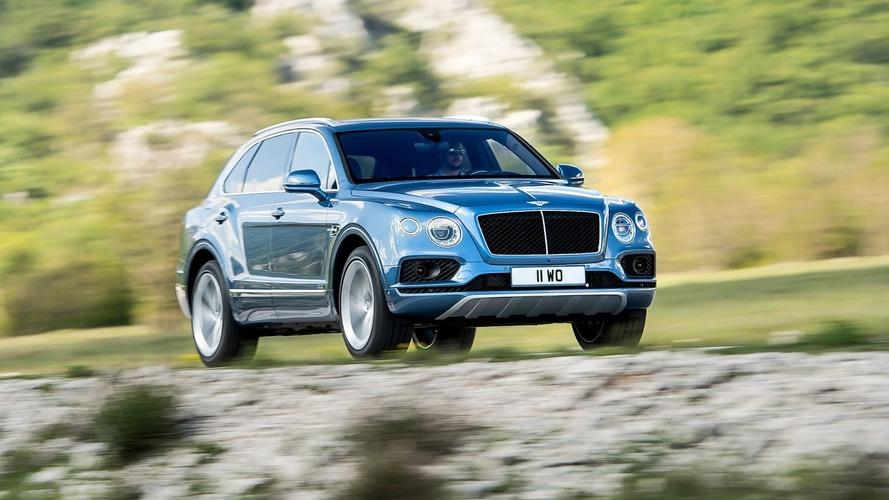 Bentley Bentayga diesel - C'est déjà fini