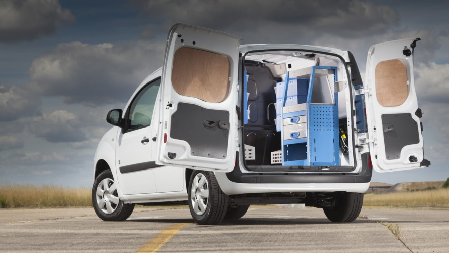 Renault Kangoo gets tools and hardware storage solutions in U.K.