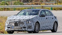 Possible 2018 Mercedes-AMG A40 spy photo