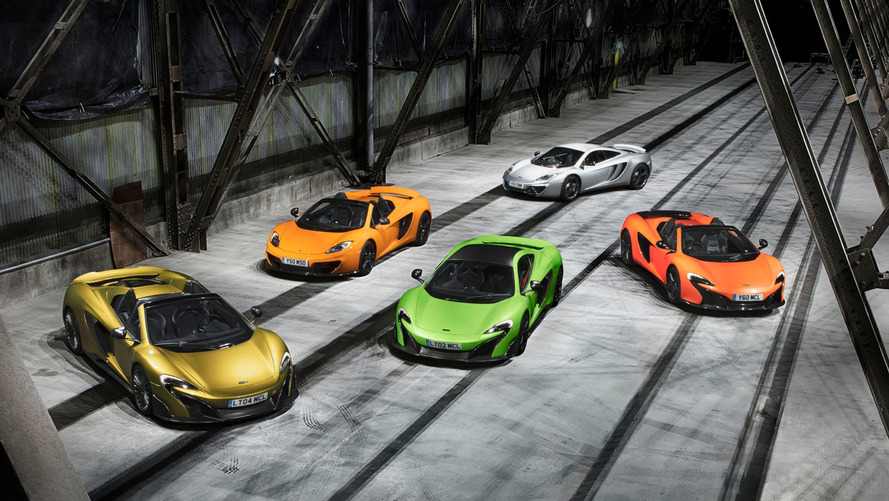Quatre places mais pas quatre portes pour les prochaines McLaren