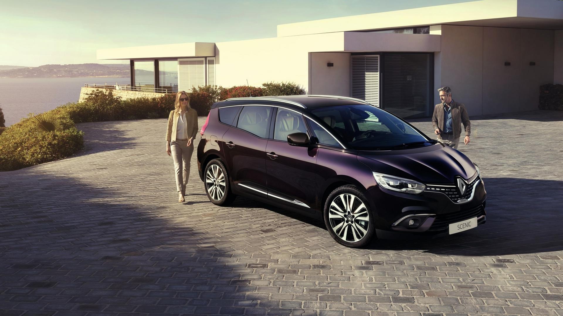 Los Renault Scénic Y Grand Scénic Con El Acabado Initiale Paris