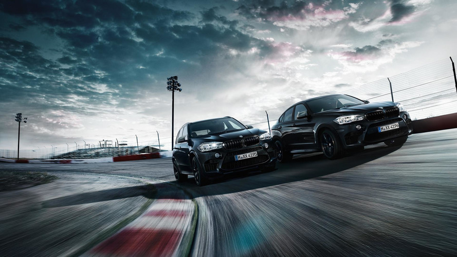 BMW X5 M y X6 M Black Fire Edition, todo al negro