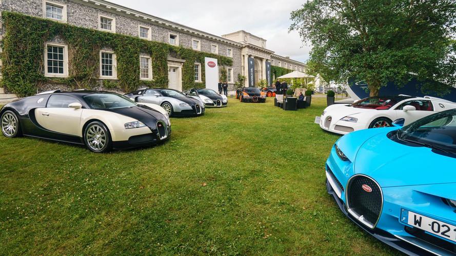 Bugatti Goodwood Hız Festivali