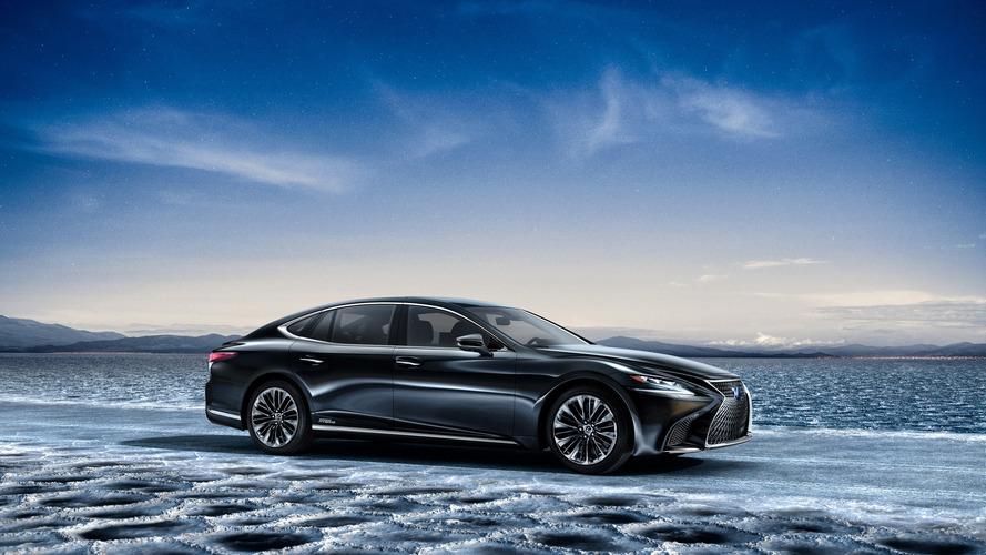 New Lexus LS 500h Multi Stage Hybrid