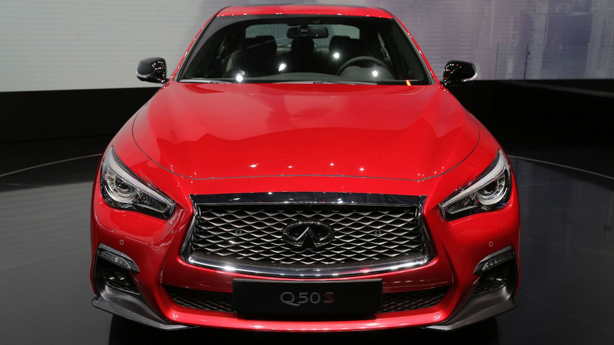 Infiniti Q50 get modest facelift, self-driving tech for Geneva